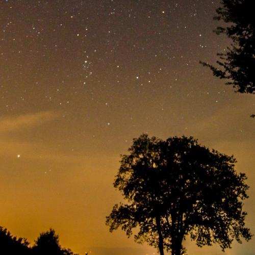 Cena a bivacco sotto le stelle